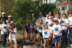 Tree Planting project at Edison-Ford Winter Estates